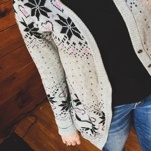 Thick & Cozy Hooded Cardigan